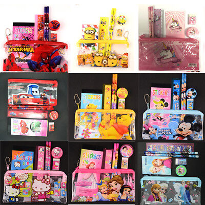 Unicorn Spiderman Minion Kids Pencil Case Stationery Supplier Boy & Girls