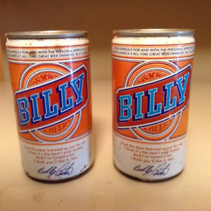 Billy beer memrobillia