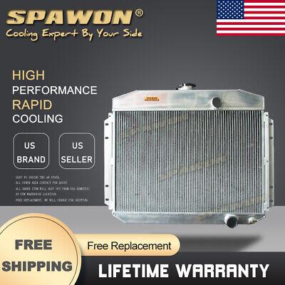 4Row Spawon Radiator For Ford F-Series Truck F100 F250 F350 6Cyl 1961-1964