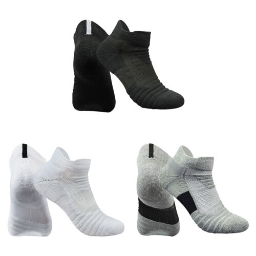 1 Pair Professional Basketball Socks Men Cotton Cushioned Cr