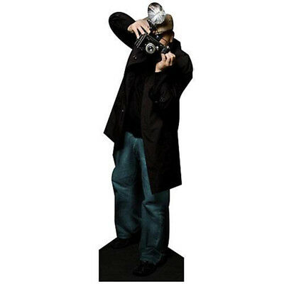 PAPARAZZI Photographer CARDBOARD CUTOUT Standup Standee Poster FREE SHIPPING - Paparazzi Cut Out
