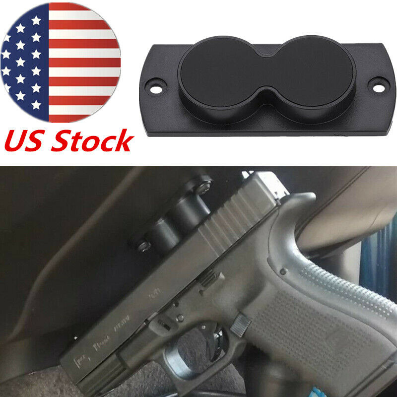 US Rifle Gun Magnet Holster Pistol Magnetic Concealed Gun Holder F Car Desk Bed