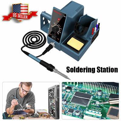Soldering Station Hanmatek Durable Iron Kit Temperature Adjust Rapid Heating Us