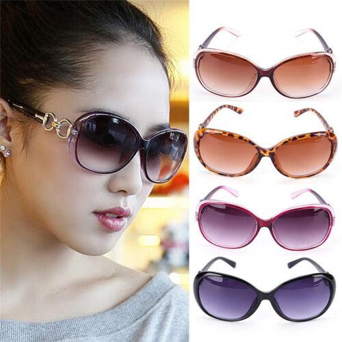 Damen Oversized Cat Eyes Sonnenbrille Vintage-Stil Retro Shades Eyewears Gut HMY
