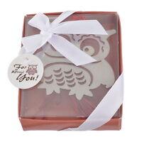Lovely Silver Coloured Owl Bookmark In Presentation Gift Box - Ideal Little Gift -  - ebay.co.uk