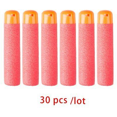 30Pcs/Lot 9.5cm Red Sniper Rifle Darts Bullets for Nerf Mega Kids Toy Foam