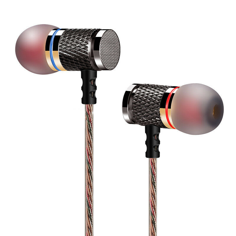 KZ-ED2 Professional In-Ear Earphone Metal Heavy Bass Sound Q