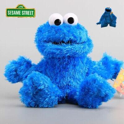 Sesame Street Plush Cookie Monster Hand Puppet Play Games Doll Toy Puppets 2019 Sesame Street Hand Puppet