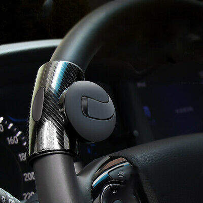 Black Car Steering Wheel Turning Knob Auxiliary Catcher Ball Accessories