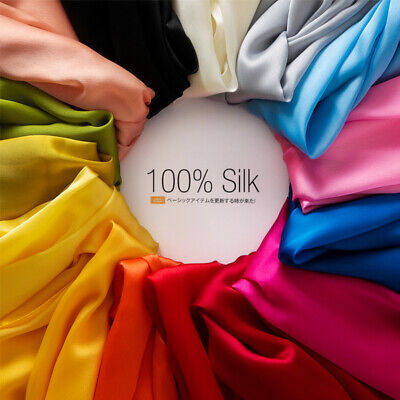 Long Satin Scarf - Silk Scarf Long Scarf Shawl and Female Heavy Summer Air Conditioning Color Satin