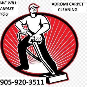 WE WILL AMAZE YOU CALL ADROMI CARPET CLEANING TODAY