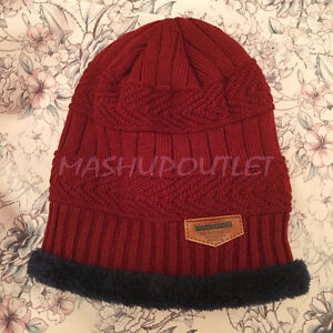 Unisex-Winter-Chunky-Soft-Stretch-Cable-Knit-Slouch-Beanie-HAT