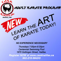 Karate 4 Adults! Register NOW
