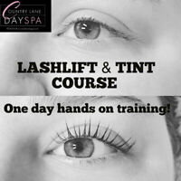 Training Available Lash Lift &  Tint