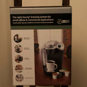 KEURIG OfficePro B145 Coffee Maker with K-Cups.  New In Box!