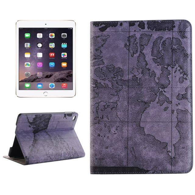 Hülle Tasche Case Leder Optik Apple iPad mini 4 Tablet Cover