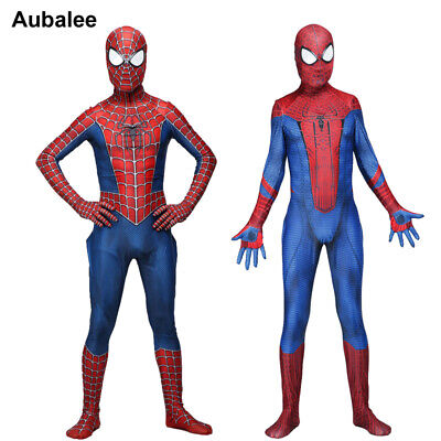Amazing Raimi Spiderman 3D Print Spandex Zentai Suit For Adult Child Halloween - Baby Costumes For Adults Halloween