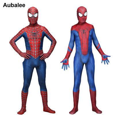 Amazing Raimi Spiderman 3D Print Spandex Zentai Suit For Adult Child Halloween