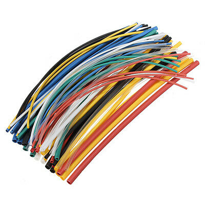 Assortment 21 Heat Shrink Tubing Tube Sleeving Wrap Wire Cable Kit 5size 70 Sm