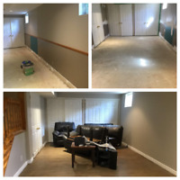 Drywall, Painting, Flooring and More!!!