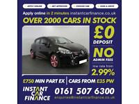 Renault Clio Dynamique S Medianav Tce 0.9 Manual Petrol BAD / GOOD CREDIT