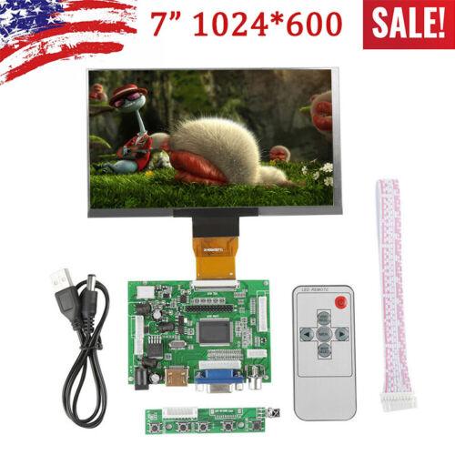 7inch Display HDMI LCD for Raspberry Pi B+ 1024×600 IPS Scr