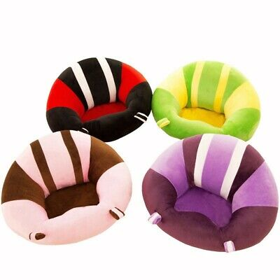 Infant Baby Plush Seat Sit Support Protector Chair Car Cushion Sofa Pillow Toys