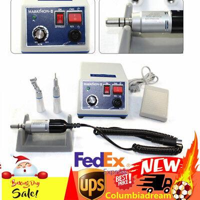 2019 Marathon Dental Lab Micro Motor 35k Rpm N3contra Anglestraight Handpiece