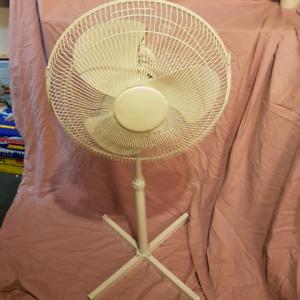 Beat the heat buy a floor fan