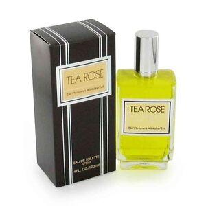 Tea Rose 120ml edt Spray New & Retail sealed.