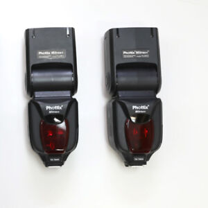 Flashs cobra Phottix pour Canon