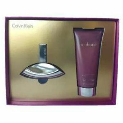 Euphoria for Women by Calvin Klein EDP Spray 1.0 oz + Lotion 3.4 oz - Gift set Calvin Klein Euphoria Gift Set