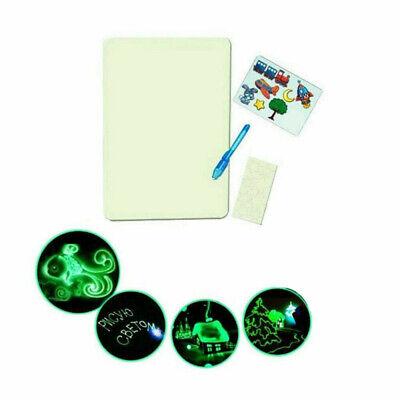 Magic Drawing Board Fluorescent Light Retaining Painting Graffiti Board New qwe