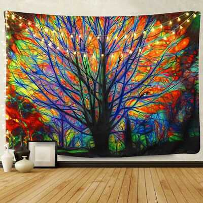 Indian Tapestry Wall Hanging Hippie Gypsy Bedspread Throw Bohemian Cover Tree UK