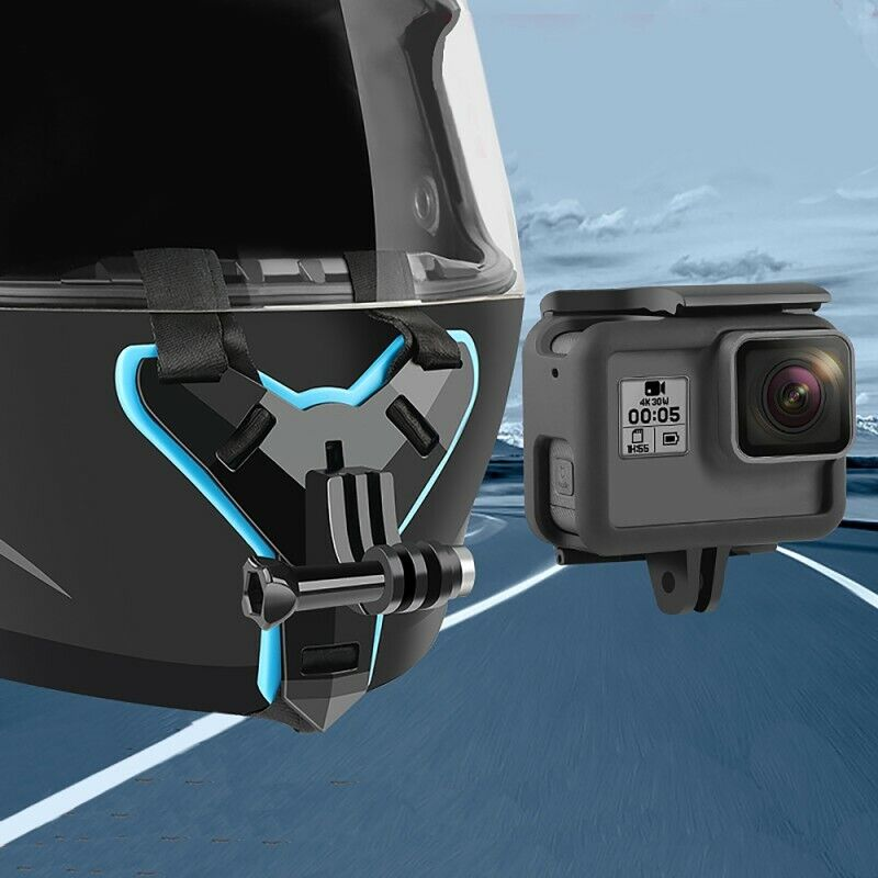 For GoPro Hero6/5/4 XiaoYi Action Camera Motorcycle Helmet Chin Mount Holder US