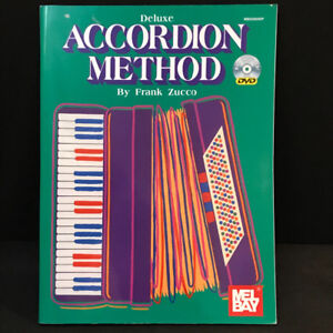 Accordion Method(Deluxe) w DVD by Frank Zucco