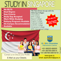 Singapore study & work in the Hospitality Industry with renowned