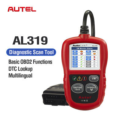 Autel Autolink AL319 OBD2 Car Code Reader OBDII Auto Diagnostic Scanner Tool