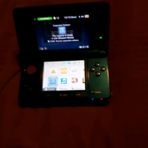 Nintendo 3DS system an 2 3DS games