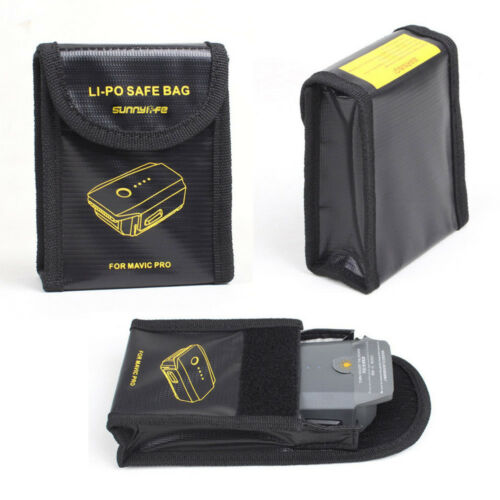 Lipo Fire-proof Battery Safe Guard Bag Protective Case Fit For DJI Mavic