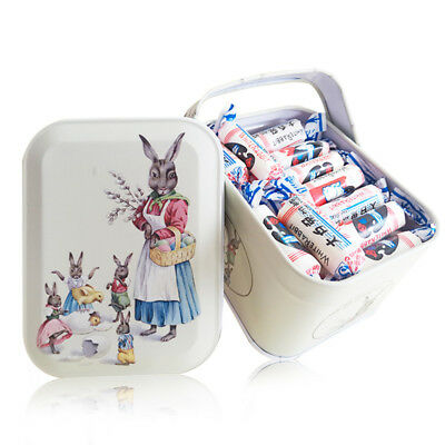 Delicious Chinese Food White Rabbit Creamy Candy Milky Chewy Sweets Box Gifts