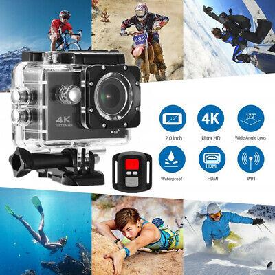 Motorcycle Helmet Sport DV Logger Action Camera Full 4K WIFI Screen Waterproof