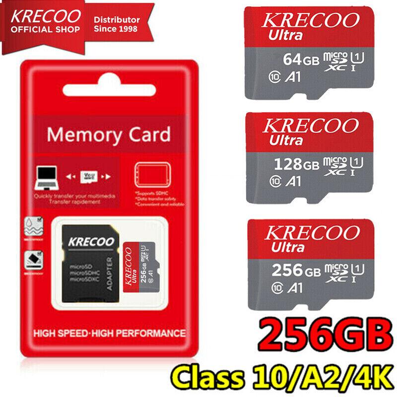 Micro SD Extreme Ultra Memory Card 64GB 128GB 256GB Class10 U1 325MB/S DJI GoPro