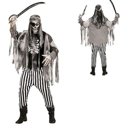Zombie Pirat XL (54) Halloween Kostüm Geisterschiff Piratenkostüm Geisterpirat