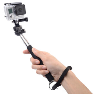 39 selfie stick 39 could be used as a baton once extended lookboard short film 39 the cure. Black Bedroom Furniture Sets. Home Design Ideas