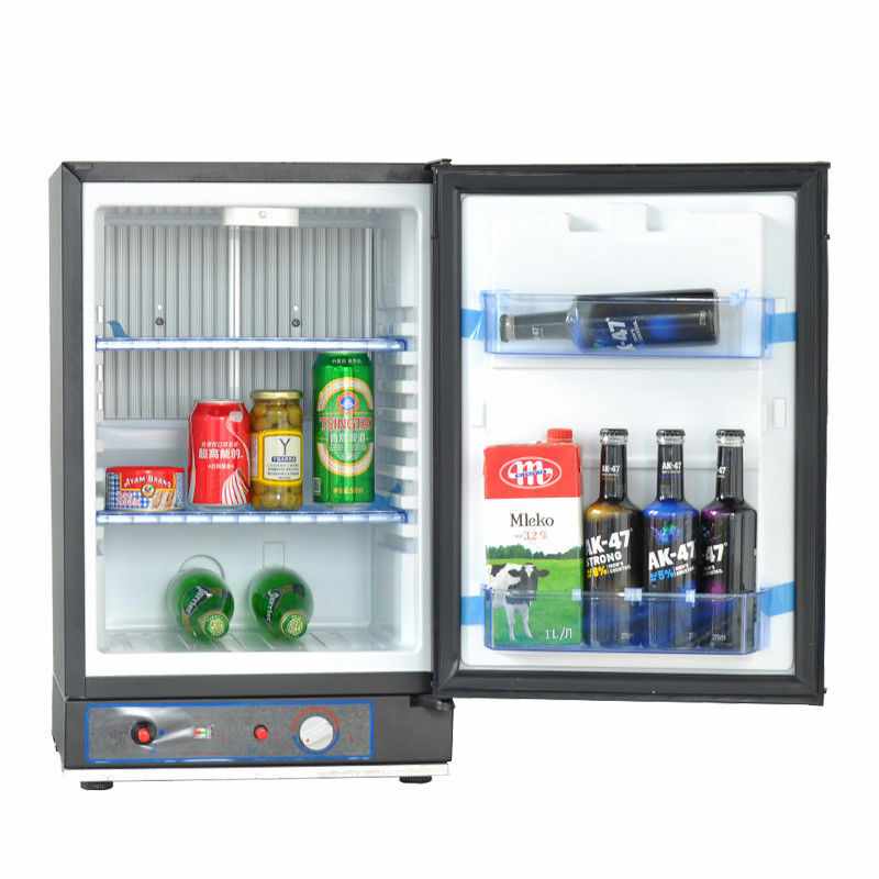 Smeta 1.5 cu ft 3 Way Propane Refrigerator Camper Fridge Cab