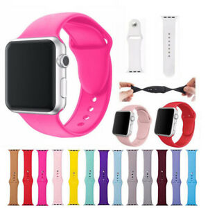 Apple Watch Silicone Sports Bands For 38/40/42/44mm Series 4 3