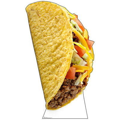 GIANT TACO 6-Foot-Tall CARDBOARD CUTOUT Standup Standee Poster Mexican Food Prop](Giant Taco)