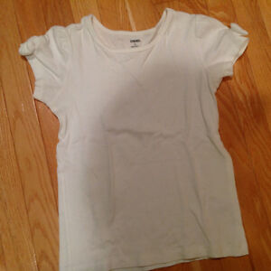 Gymboree Short Sleeve White Top with Bows