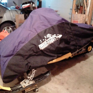 Cover-All Canvas Snowmobile cover XL size